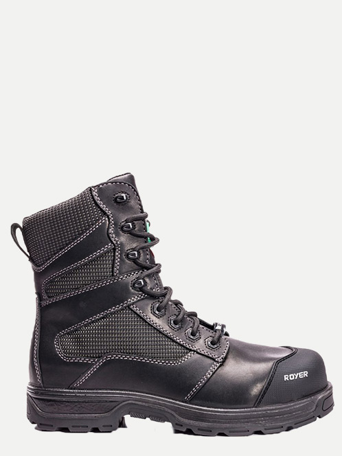 "Royer 8"" Metal-Free Lightweight Leather Work boot"