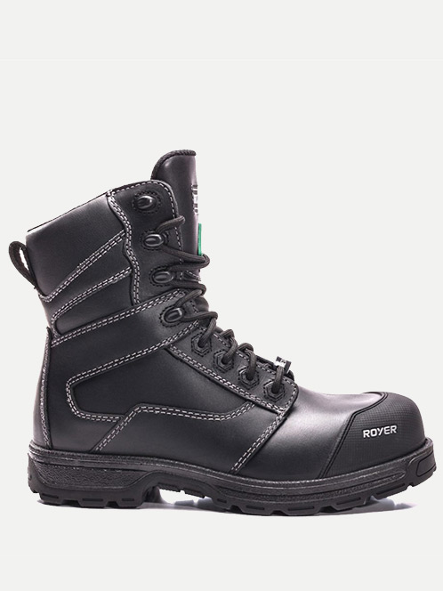 "Royer 8"" AGILITY Metal-Free All-leather Work Boot"