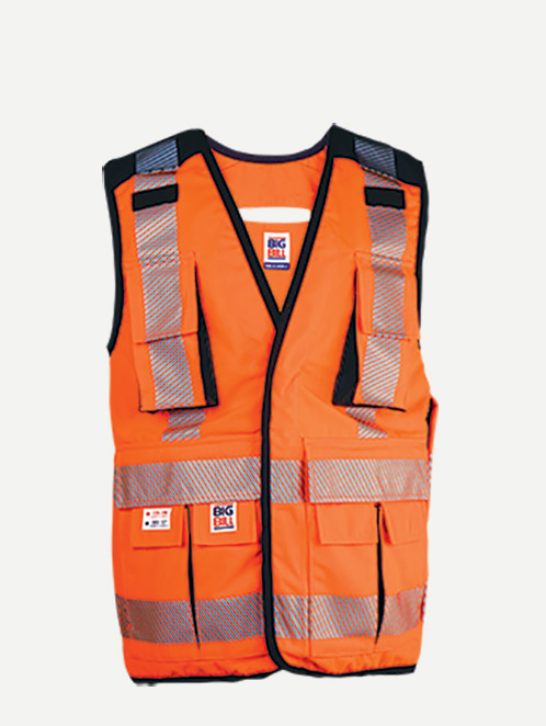 Big Bill Hi-Visibility Ripstop Surveyors Vest