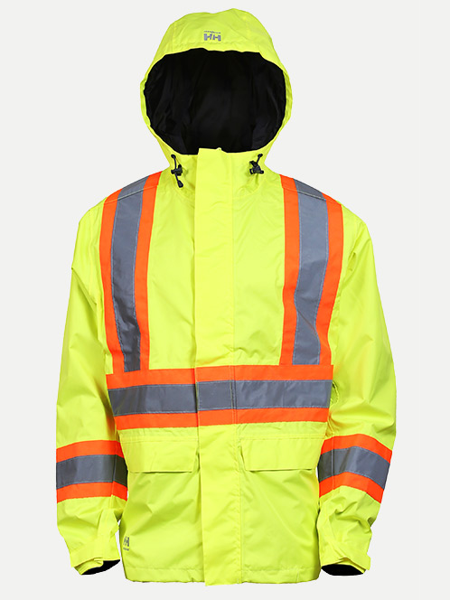 "Helly Hansen Alta Shelter Jacket With 4"" Striping"
