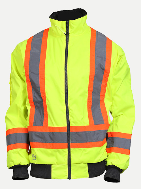 "Helly Hansen Alta Pilot Jacket With 4"" Striping"