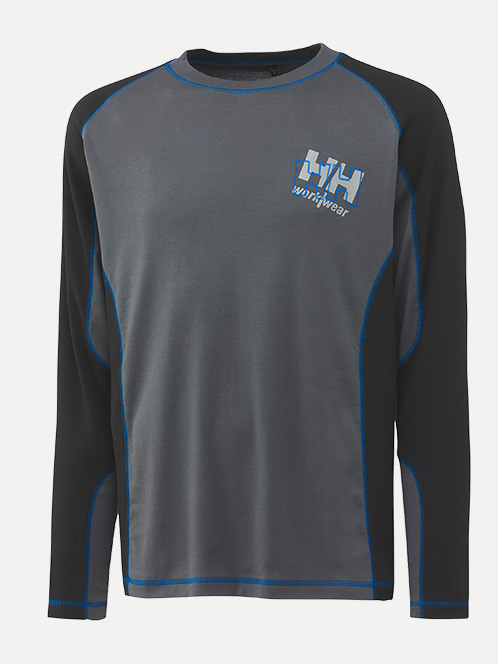 Helly Hansen Chelsea Long Sleeve 100% Cotton T-Shirt