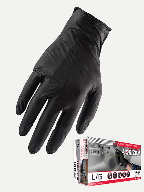 Horizon 6 Mil Disposable Gloves (Box 100)