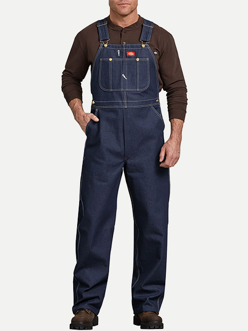 Dickies Denim Indigo Bib Overalls