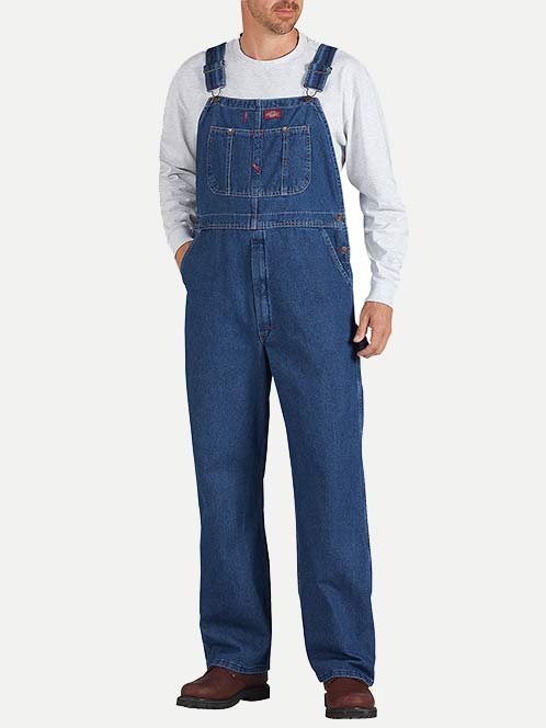Dickies Denim Indigo Bib Overall