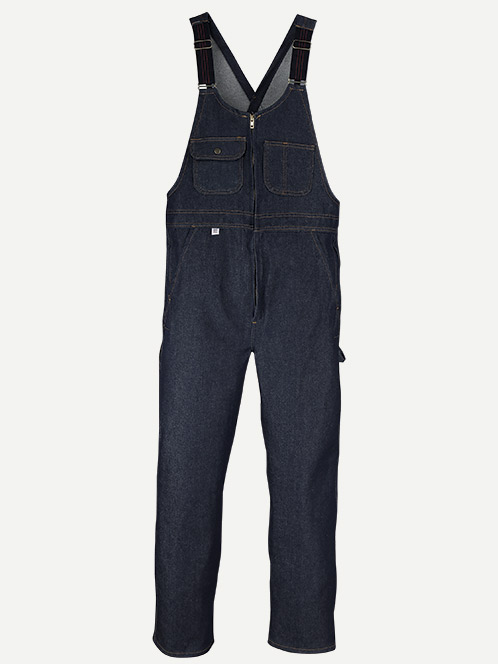 Big Bill Zip-Front Closure Denim Bib Overall