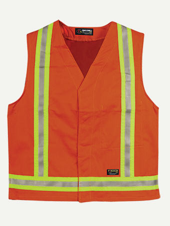 Big Bill 9 oz Westex™ Ultra Soft® Unlined Covering Hiviz Vest
