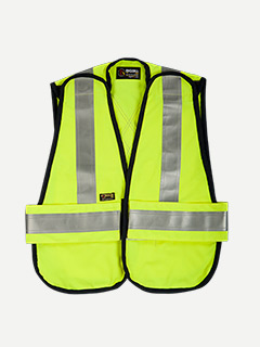 Big Bill 7 oz Tecasafe Unlined FR Hiviz Vest
