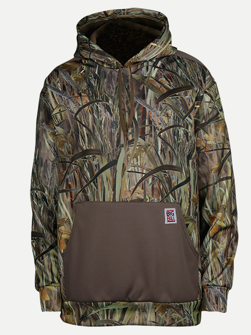 Big Bill Fleece Camo Hoodie