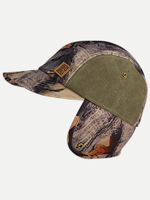 Big Bill Camouflage Hunting Hat with Ear Flaps