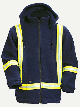 Big Bill 8.5 oz Polartec® Thermal FR® Fleece Hiviz Jacket