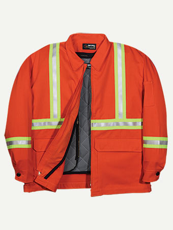 Big Bill 9 oz Westex™ Ultra Soft® Zip In / Zip Out Hiviz Team