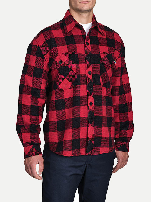 Dickies Relaxed Fit Long Sleeve Doe Skin Shirt