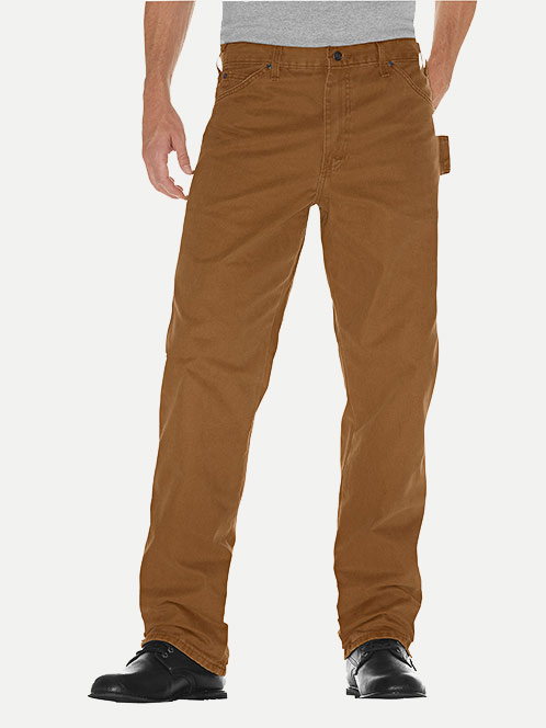 Dickies Relaxed Fit Sanded Duck Carpenter Pant