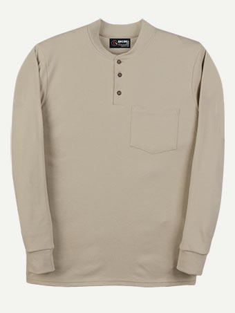 Big Bill 6.5 oz Flamex® FR Long Sleeve Henley