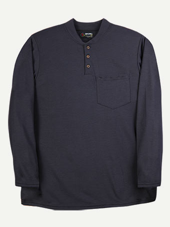 Big Bill 8.75 oz Polartec® Power Dry® FR Long Sleeve Henley