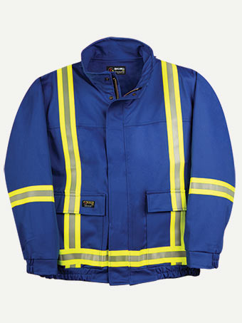 Big Bill 9 oz Westex™ Ultra Soft® Unlined Hiviz Bomber Jacket