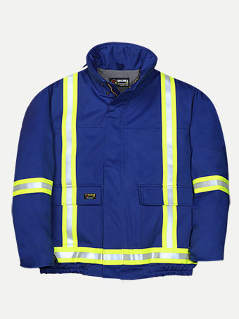 Big Bill 7 oz Westex™ Ultra Soft® Winter Hiviz Bomber Jacket