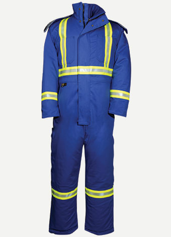 Big Bill 7 oz Westex™ Ultra Soft® Insulated Hiviz Coverall