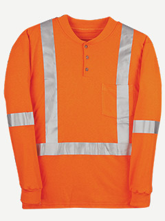 Big Bill 6.5 Oz. ITI Reliant FR Hivis long sleeve t shir