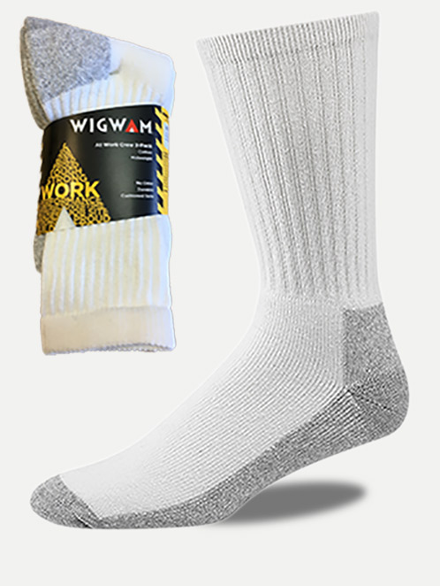 Wigwam 'At Work' Crew Socks (3 Pack)