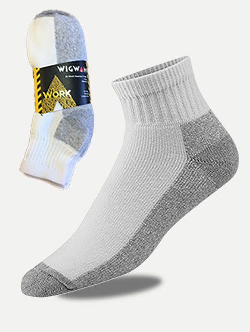 Wigwam At Work Quarter Sock (3 Pack)