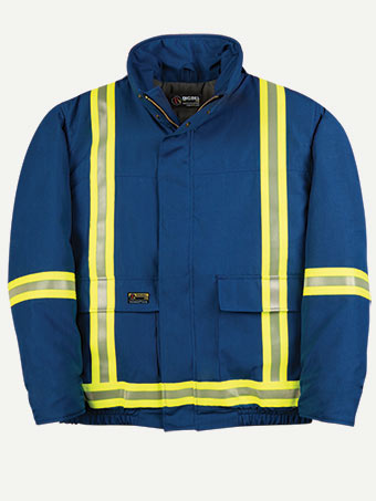 Big Bill 4 oz Nomex® IIIA® Winter Hiviz Bomber Jacket