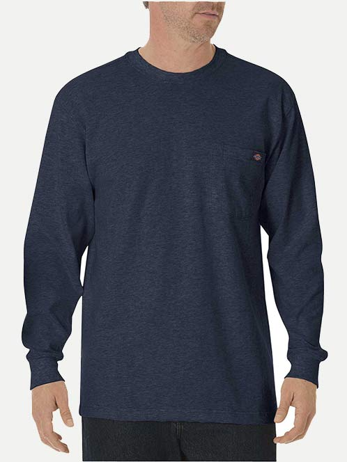 Dickies Heavyweight Long Sleeve T-Shirt With Pocket