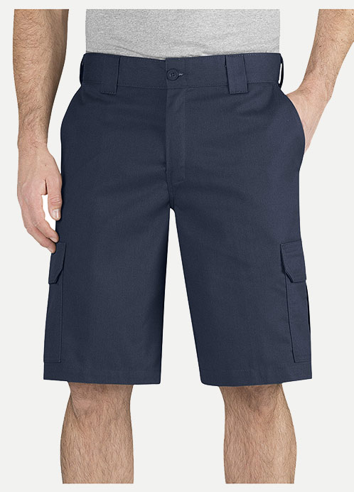 "Dickies Regular Fit 11"" Cargo Short-Flex Fabric"