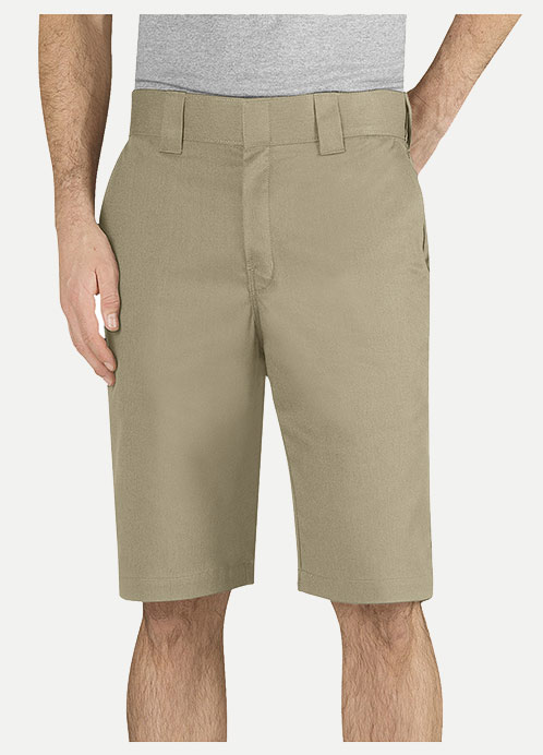 "Dickies Regular Fit 11"" Work Short-Flex Fabric"