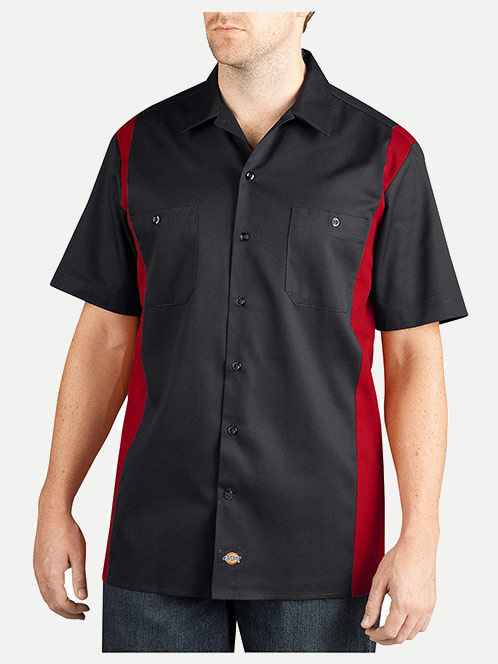 Dickies Regular Fit Two Tone Work Shirt