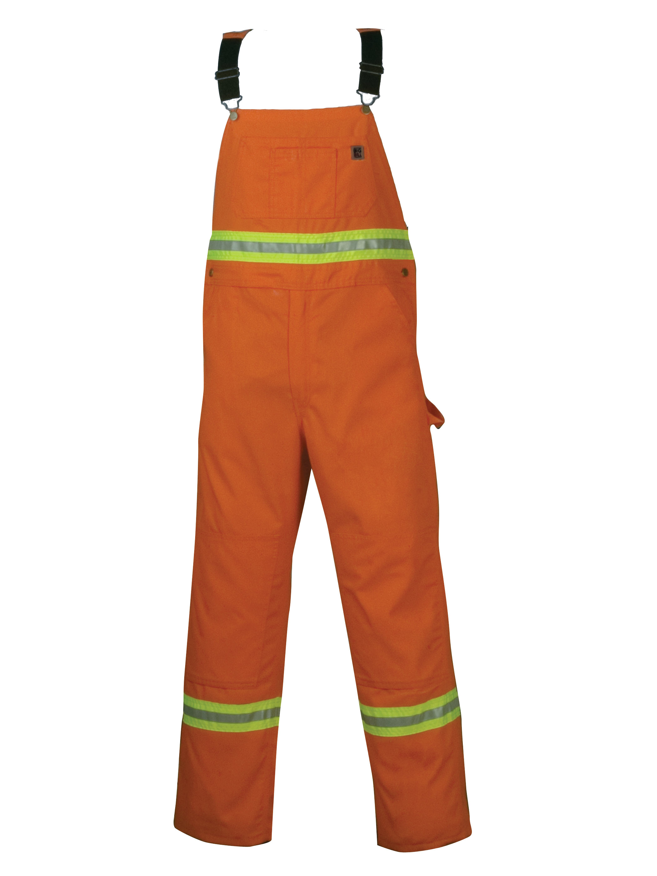 Big Bill Enhanced Visibility Unlined Twill Workwear Bib