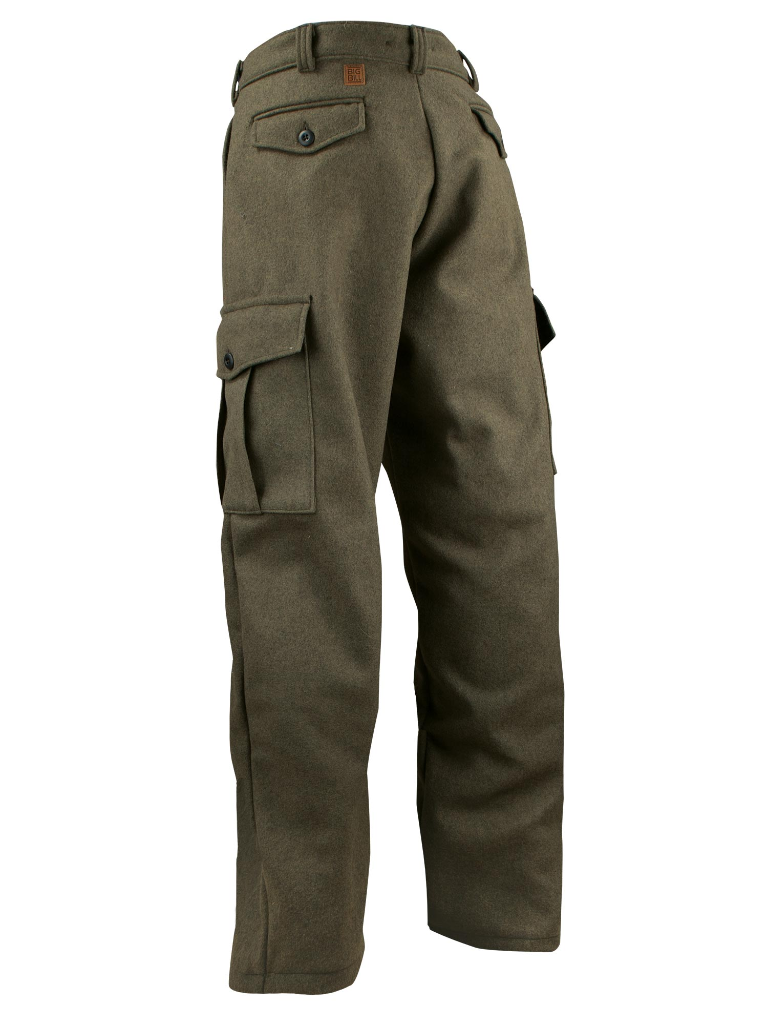 Big Bill 18 Oz Merino Wool Cargo Hunting Outdoor Pants 234mer