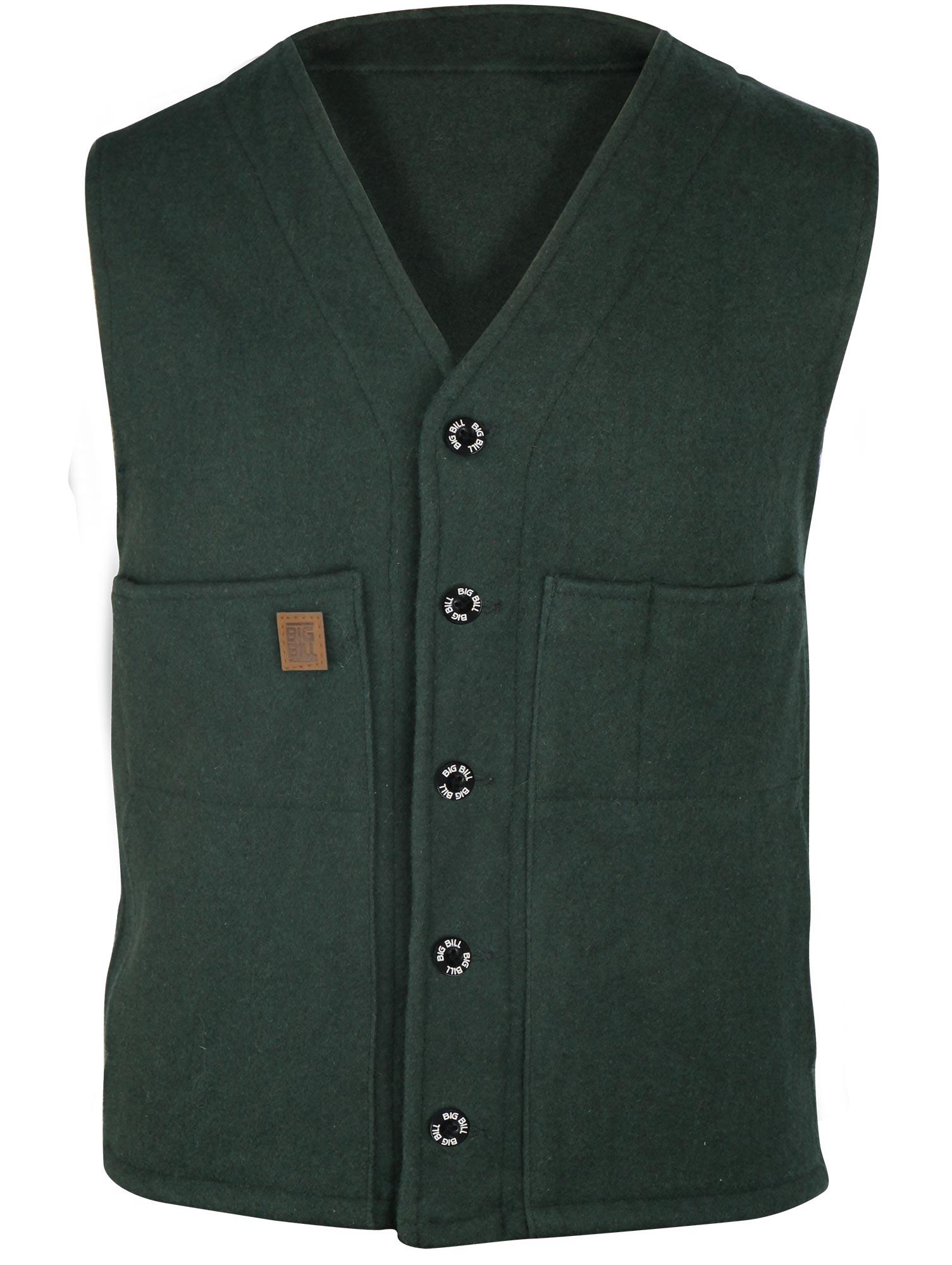7fd9ed28ee Big Bill 24 Oz. Wool Vest - 624