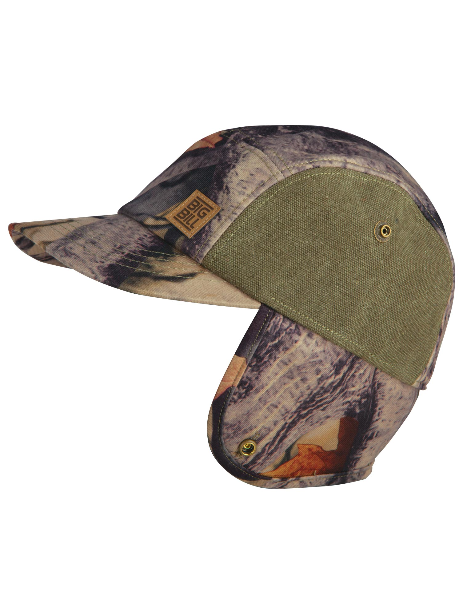 5f9ffe0463 Big Bill Camouflage Hunting Hat with Ear Flaps - BBHHAT1