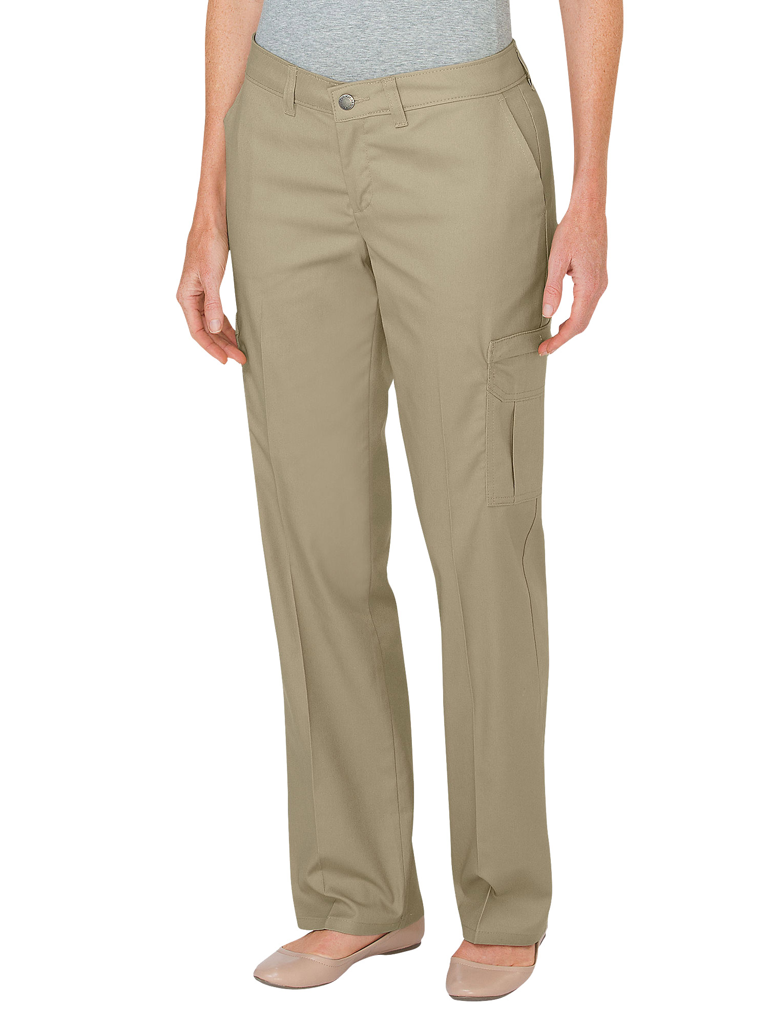 khaki pants womens dickies s premium relaxed cargo fp2372 30293
