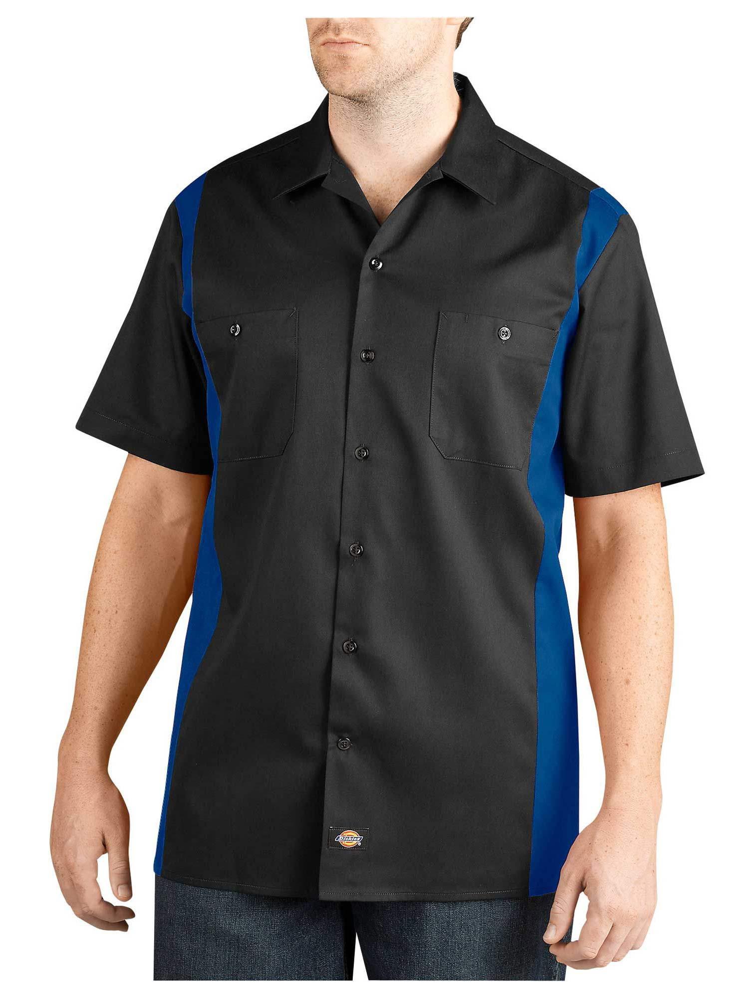 Dickies regular fit two tone work shirt ws508 for 6 dollar shirts coupon code free shipping