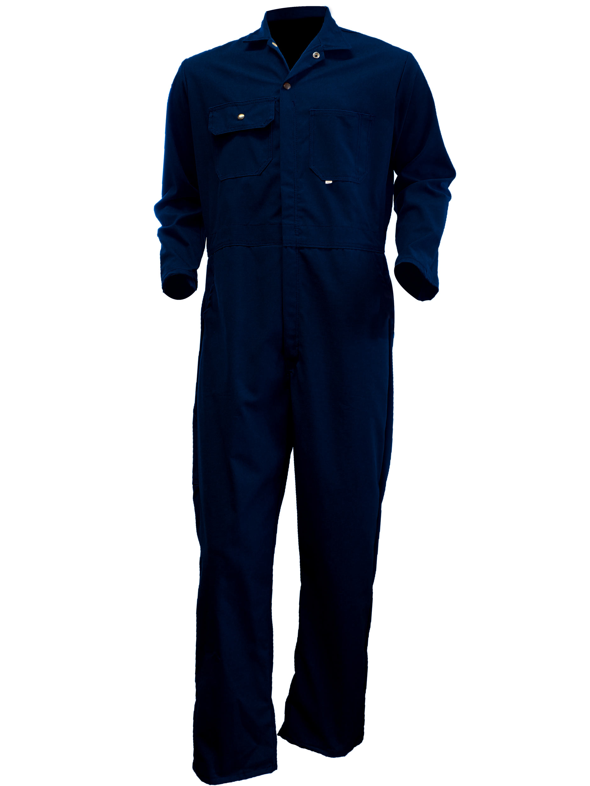 Big Al Navy Poly Cotton Coverall Light Weight 1445x