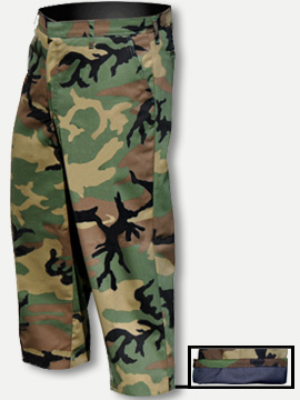 Big Al Camouflage Pants 65% Poly 35% Coton