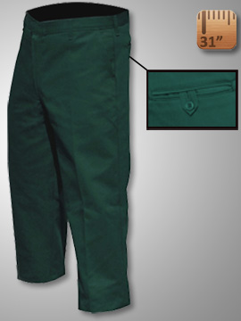 Big Al Green Work Pants 65% poly 35% Coton