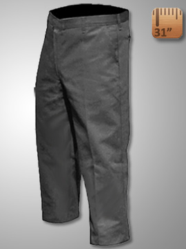 Big Al Grey Work Pants 65% poly 35% Coton