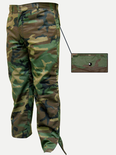 Big Al Acrylic Lined Camouflage Pants