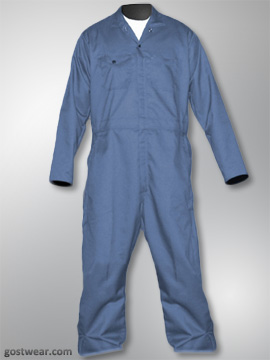Big Al Post Man Blue Coverall