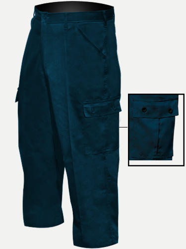 Big Al Navy Cargo Pants