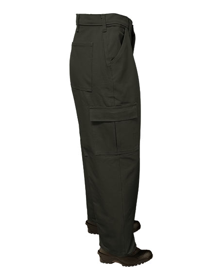 Big Al Black Cargo Pants