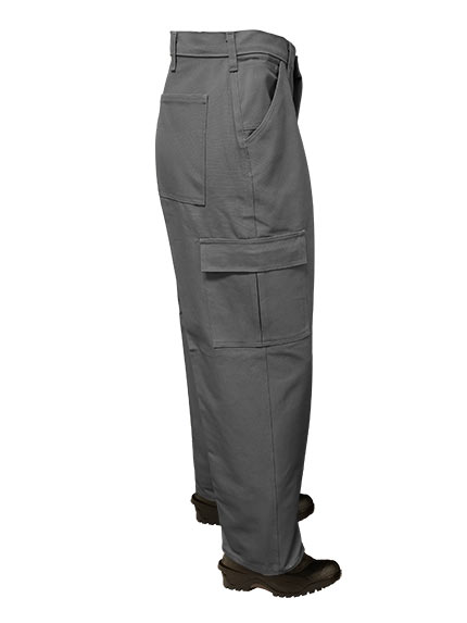Big Al Grey Cargo Pants