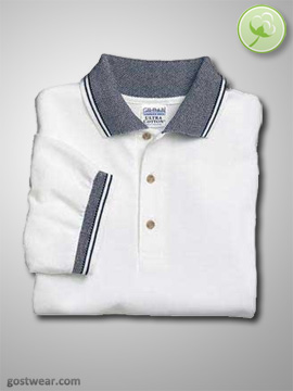 Gildan Ultra Cotton Fashion Jacquard Sport Shirt
