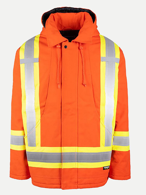 Terra High Visibility Canvas Winter Parka