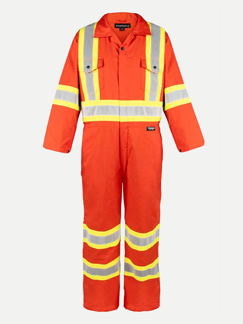 "Terra High Visibility 4"" Lightweight Coveralls"
