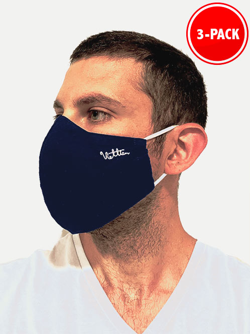 Breathable Cloth 3 layer face mask